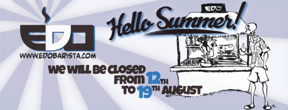 Vi auguriamo una buona estate!