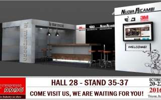 Edo at TriestEspresso Expo: come ti see us at booth 35-37, Hall 28!