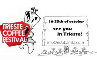 16-23 of October, a busy week at the Trieste Coffee Festival with Edo!