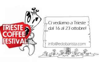 Edo Barista: dal 16 al 23 di ottobre una settimana intensa al Trieste Coffee Festival
