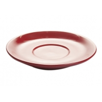 CAPPUCCINO SAUCER MILANO RED