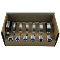 6 tamper bases full TampSure kit