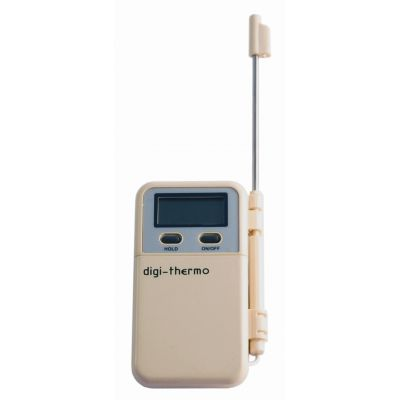 DIGITAL THERMOMETER WITH STAINLESS STEEL SENSORPROBE