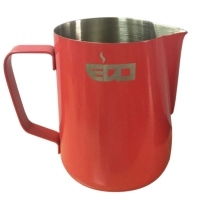 350ml CORAL RED MILK PITCHER