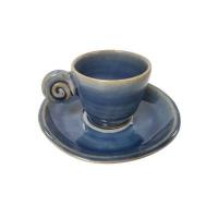EDO COFFEE SET UZU LINE BLUE