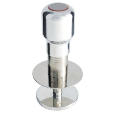 ADJUSTABLE DYNAMOMETRIC TAMPER IN STAINLESS STEEL WITH 58MM ALLUMINIUM DISC