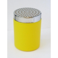 YELLOW COCOA SHAKER WITH BIG HOLES