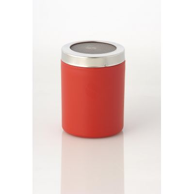 RED COCOA SHAKER WITH SMALL HOLES