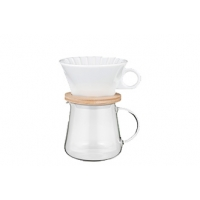 COFFEE POT & DRIPPER SET 400ml