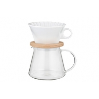 COFFEE POT & DRIPPER SET 600ml