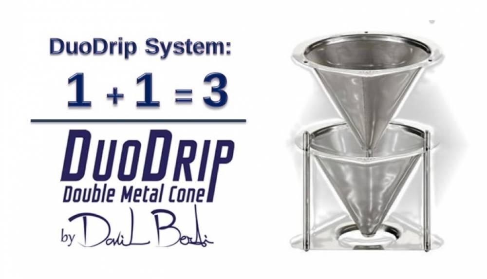 il 'sistema' DuoDrip: quando 1+1 è uguale a 3