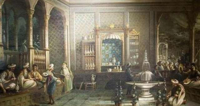 In Constantinople ends the Middle Ages and begins a New Era, made of coffee and storytellers.
