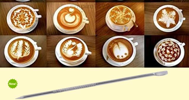 LATTE ART PEN: il tuo alleato per stupire con un cappuccino.
