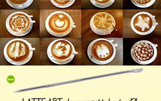 LATTE ART PEN: your ally to amaze with a cappuccino.