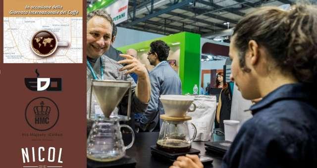 Quiz sensoriale sul caffè: EDO Barista e His Majesty the Coffee alla caffetteria Nicol con la campionessa italiana Helena Oliviero