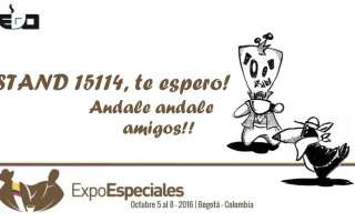 Bogotà, 5-8 October: EDO at ExpoEspeciales Cafe de Colombia 2016