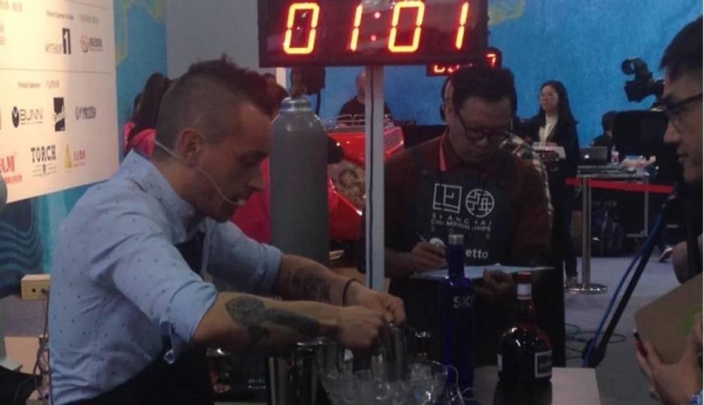 David Berti ranks 9th at the World Coffee in Good Spirits Championship 2016