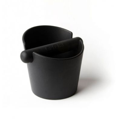 BLACK KNOCK BOX SMALL TUBBI h.13cm