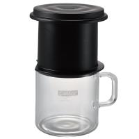 Infusore Cafeor Hario con tazza di vetro per Drip Brew Coffee da 200ml - 1cup
