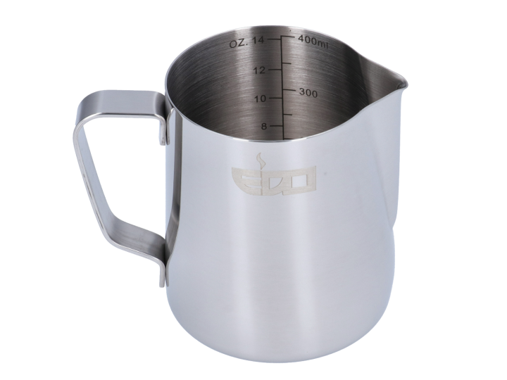 LATTIERA INOX GRADUATA EDO BARISTA - 350 ml/12 oz
