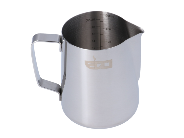 EDO BARISTA LINED STAINLESS STEEL MILK  PITCHER - 600 ml/20 oz