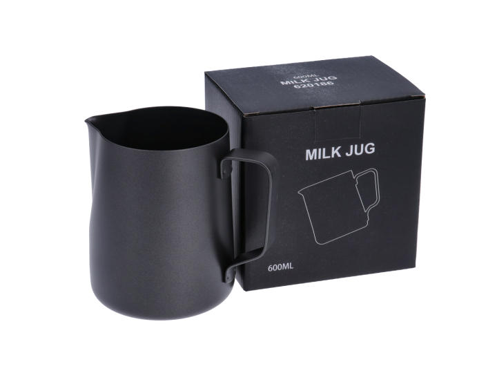 TEFLON COATED STAINLESS STEEL MILK PITCHER - 600 ml/20 oz