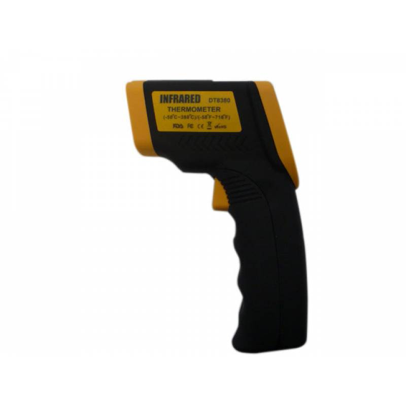 INFRARED THERMOMETER -50°C+380°C 0,8