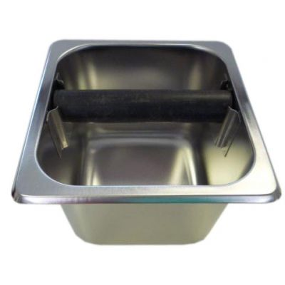 STAINLESS STEEL KNOCK BOX 4