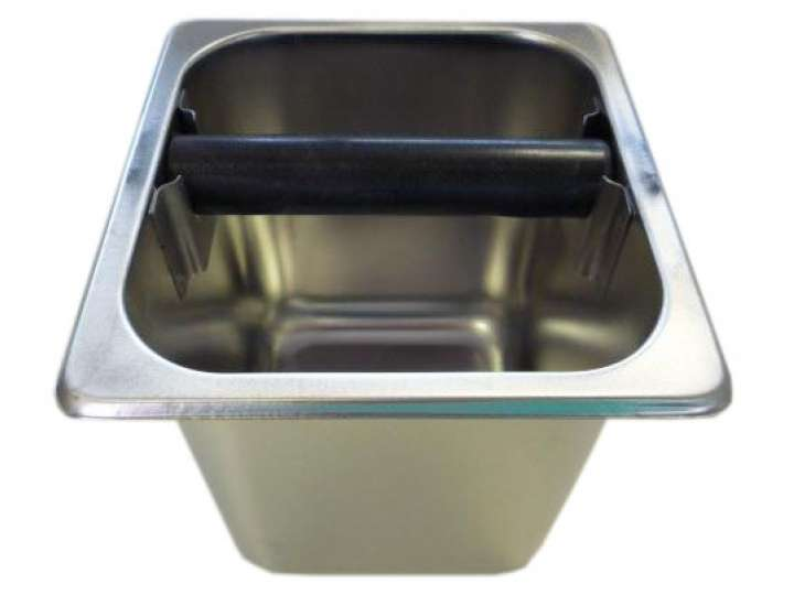 STAINLESS STEEL KNOCK BOX 6