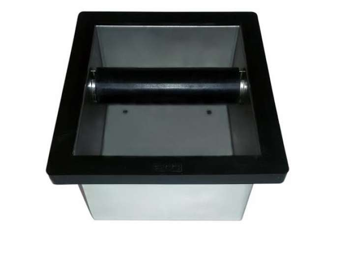 STAINLESS STEEL KNOCK BOX
