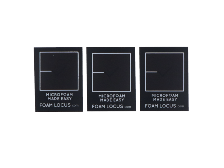 FOAM LOCUS STICKERS (3 pcs)