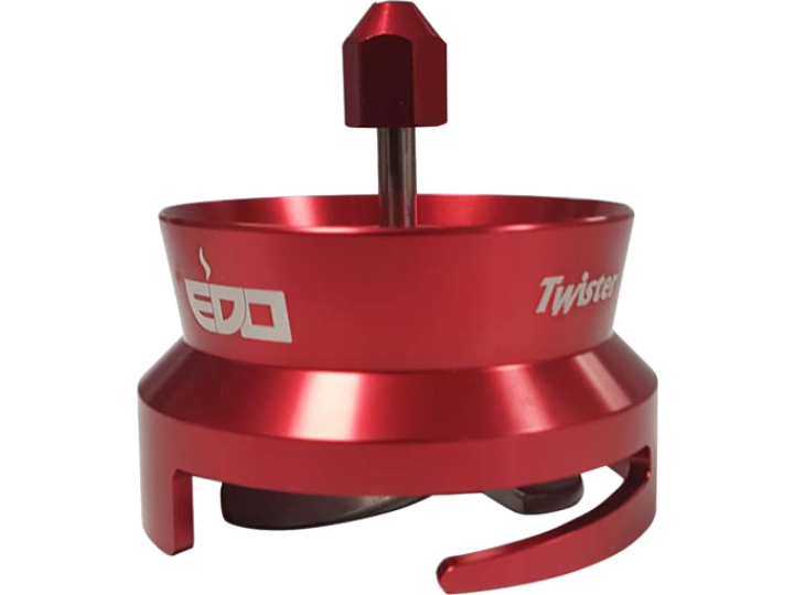 COFFEE DISTRIBUTION TOOL TWISTER -  RED
