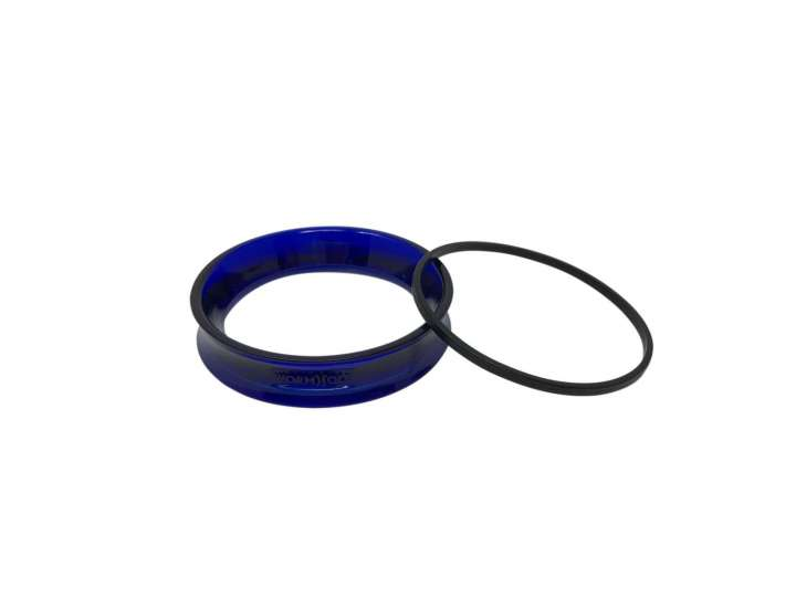 BLUE WORMHOLE RING