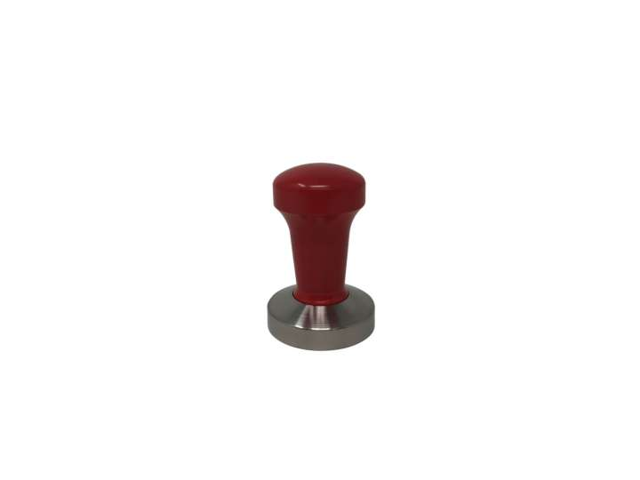 RED EDO COFFEE TAMPER YOUNG LINE 58MM FLAT BASE