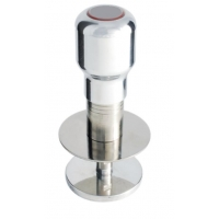 ADJUSTABLE DYNAMOMETRIC TAMPER IN STAINLESS STEEL WITH 58,3MM ALLUMINIUM DISC