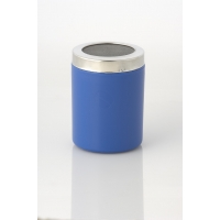 BLUE COCOA SHAKER WITH SMALL HOLES