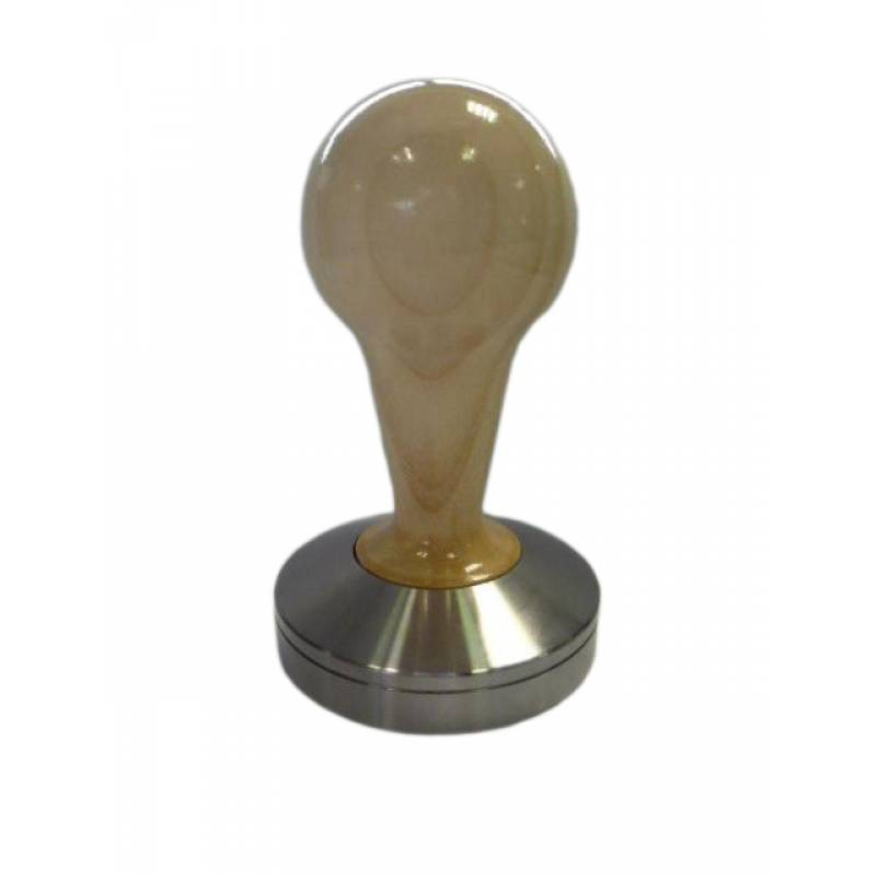 COMPETIZIONE' TAMPER IN MAPLE WOOD AND STAINLESS STEEL - 58,3mm