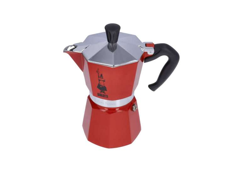 MOKA EXPRESS OCEANA BIALETTI - 3 CUPS RED