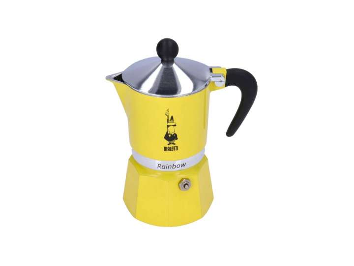 MOKA RAINBOW BIALETTI - 3 CUPS YELLOW