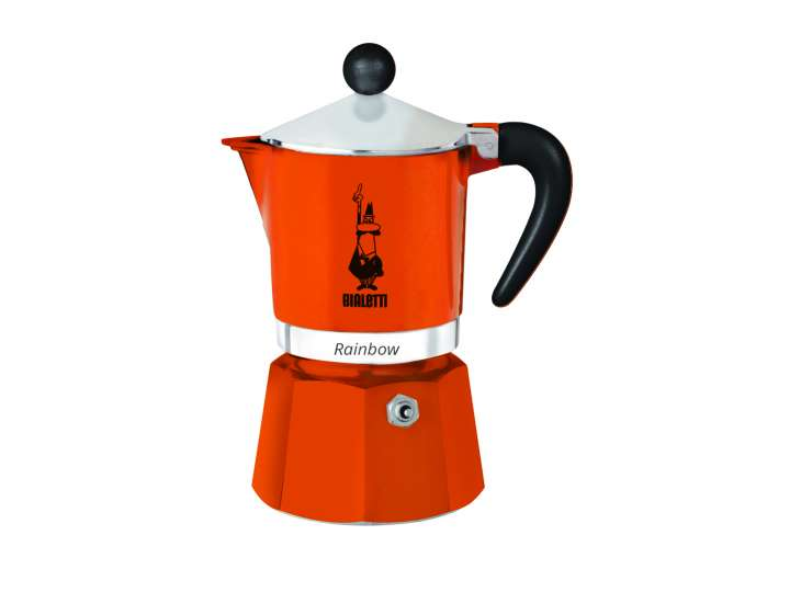 MOKA RAINBOW BIALETTI - 3 CUPS ORANGE