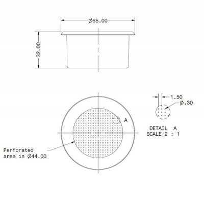 FILTRO SPAZIALE/P4Y/WEGA CONCEPT 2T H32M